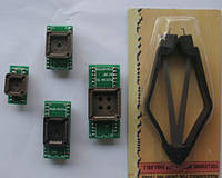 PLCC20 + PLCC28 + PLCC32 + PLCC44 + PLCC IC Extractor Kit Programmer Adapter