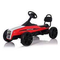 Детская педальная машина веломобиль Карт M 3412-3