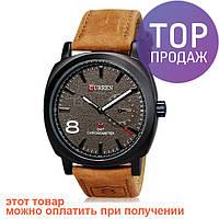 Мужские наручные часы Curren на кожаном ремешке