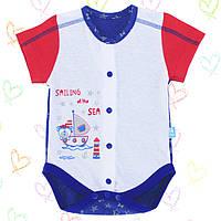 Боди  для новорожденных р.56 Хлопок-Кулир. 13045кун, короткий рукав , В наличии 56,62 Рост