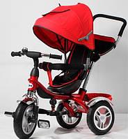 Трехколесный велосипед-коляска TR 16009 красный