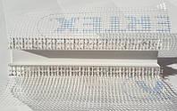 Рустовочный профиль ПВХ с сеткой толщина руста 50 мм длина 2,5 метра