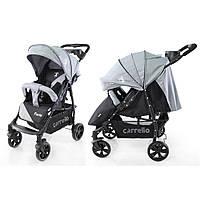 Детская прогулочная коляска CARRELLO Forte CRL-1408 серого цвета
