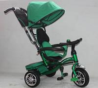 Детский трёхколесный велосипед AT0108 зеленый