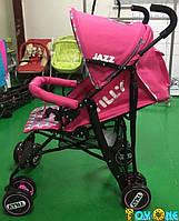 Коляска-трость TILLY Jazz BT-SB-0008 розовая