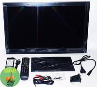 "LCD LED Телевизор 24"" DVB - T2 12v/220v HDMI"