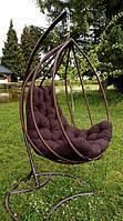 """Підвісне крісло """"Drop"""".  Подвесное кресло, подвесное кресло из ротанга, садовые качели"""
