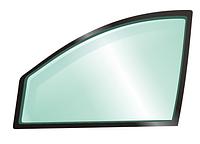 Левое боковое стекло, заднее дверное Skoda Fabia New Roomster 610х540 Шкода Фабиа Нью Румстер