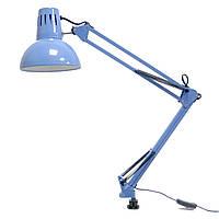 Настольная лампа на струбцине под лампу Е27