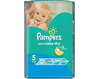 Pampers Active Baby-dry 5 ( 11-18 ) 16 шт! Уценка!