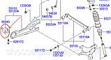 Сайлентблок заднего продольного рычага Hyundai Elantra 06-  I30 07- Kia CEE'D 06-12, фото 2