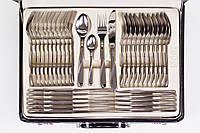 Набор столовых приборов покрытый серебром 72 прибора Zegg D-35, фото 1