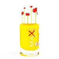 Лак для ногтей с эффектом геля Maxi Color Hot Summer 19 Желтый
