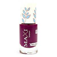 Лак для ногтей с эффектом геля Maxi Color Hot Summer 24 Сиреневый