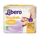Подгузник детский Либеро Ньюборн 0 (<2кг) (24)