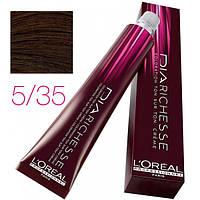L'Oreal Professionnel краска для волос DIArichesse 5.35 Шоколадный каштан