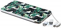 Внешний аккумулятор power bank ZIZ Power Bank 5000mAh Пальмовые листья