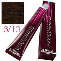 L'Oreal Professionnel краска для волос DIArichesse 6.13 Темный блондин пепельно-золотистый