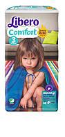 Подгузник детский Либеро Комфорт 3 (4-9кг) (62)