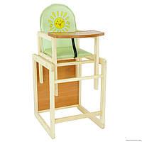 Деревянный стул стол