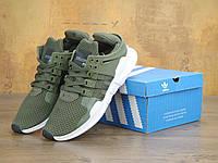 Кроссовки Adidas EQT Support ADV haki/white. Живое фото. Топ качество! (адидас eqt)