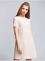 Платье трапецевидного силуэта выполнено из натуральной льняной ткани, р.46 код 2955М