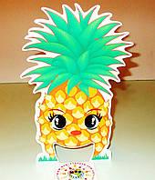 Настольная игра Прожорливые фрукты. Реквизит для логопеда Ананас