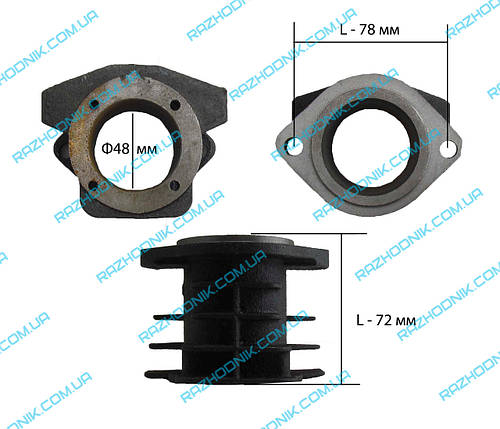 Цилиндр для компрессора ф48 (1 тип ), фото 2
