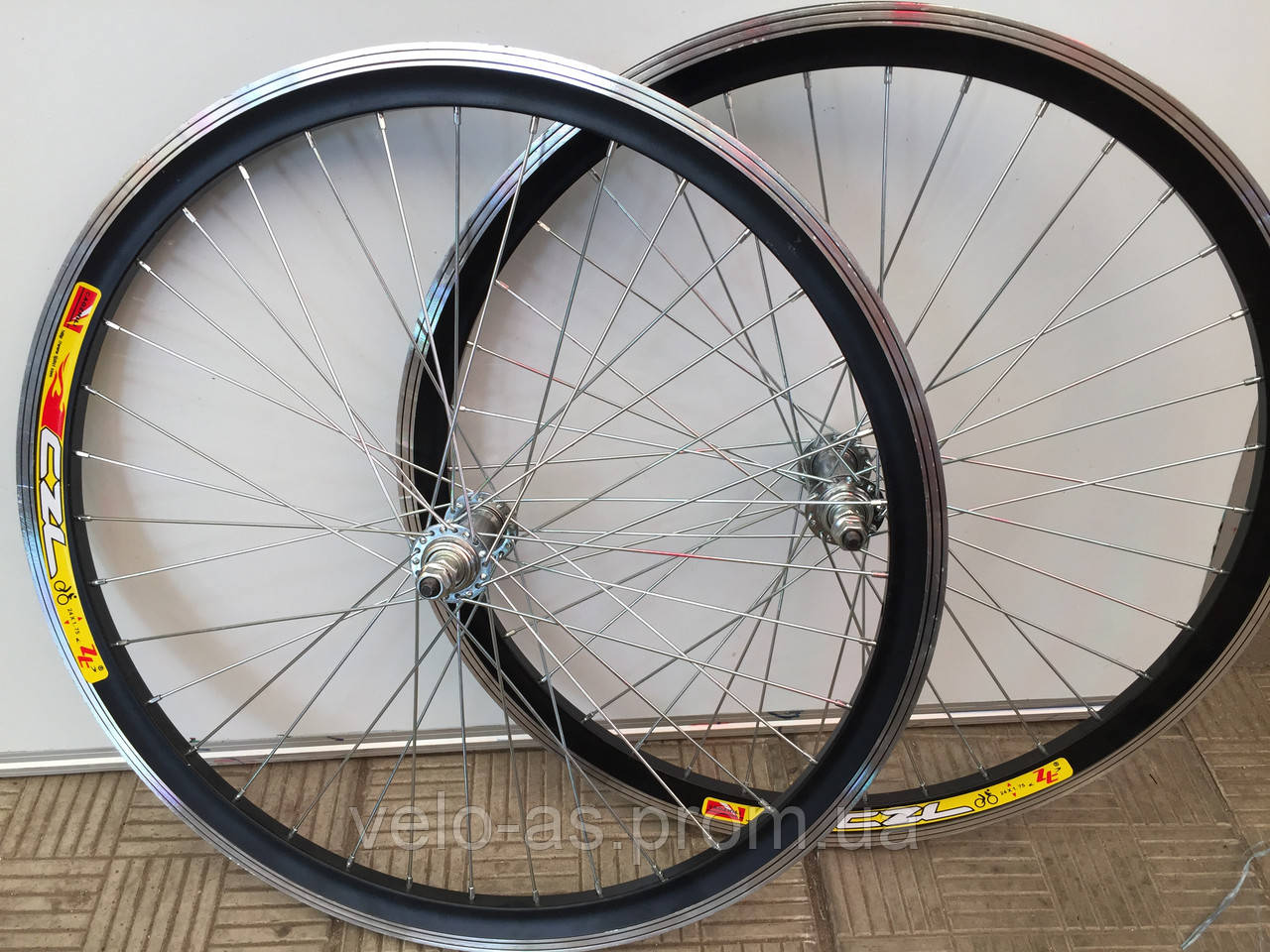 алюминевое двойное колесо 24 заднее МТБ