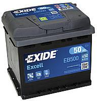 Автомобильный Аккумулятор Exide 50 Ач Эксайд 50 Ампер EB500