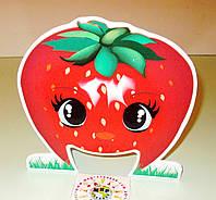Настольная игра Прожорливые фрукты. Реквизит для логопеда Клубничка