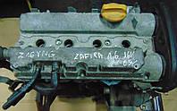 Двигатель 1.6 16V op Z16YNG 71 кВт Opel Astra H 2004-2017