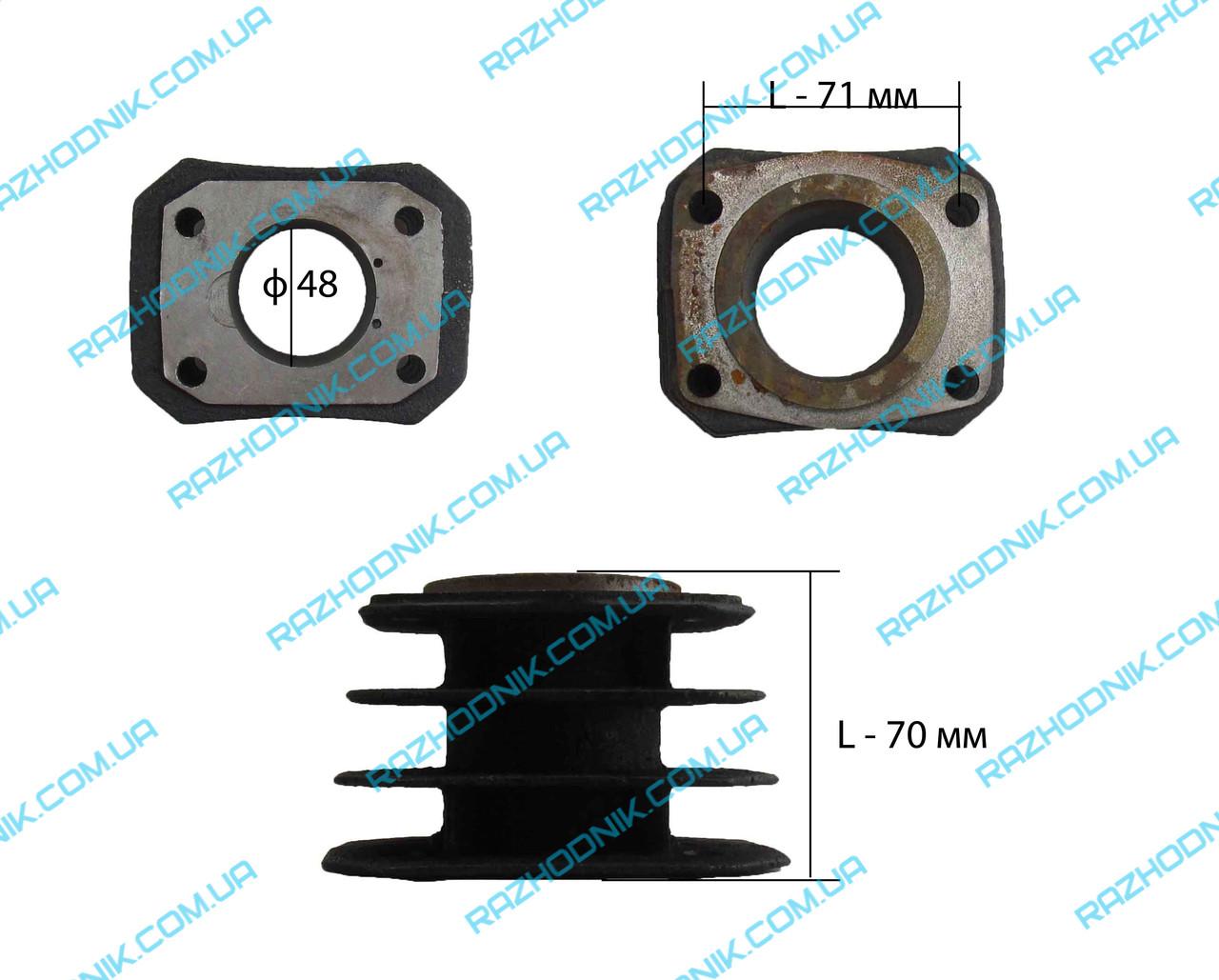 Циліндр для компресора ф48 (2 тип )