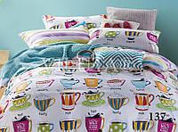 Подростковый комплект постельного белья сатин-твил Cups