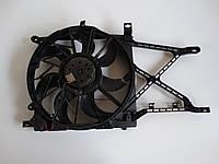 Вентилятор осн радиатора комплект с конд D390 7 лопастей 3 пина 1.4 16V op,1.8 16V op Opel Astra H 2004-2017