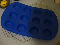 Силиконовая форма для выпекания кексов., фото 1