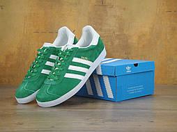 Кроссовки Adidas Gazelle green (Реплика ААА+)