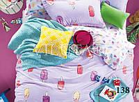 Комплект постельного белья сатин-твил Ice Cream