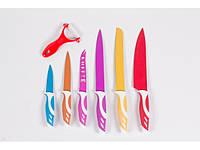 Набор металлических ножей покрытых керамикой Rossler TW3450