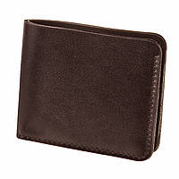 Кожаное портмоне 4.1 (4 кармана) Шоколад. Ручная работа