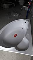 Акриловая ванна угловая 1600 х 1070