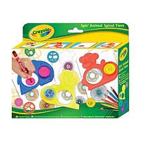 Набор для творчества Crayola с трафаретами и карандашами Животный мир (5452)