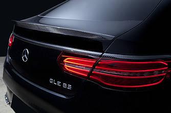 Спойлер шабля тюнінг Mercedes GLE Coupe C292 стиль 63 AMG (карбон)