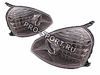 Передние диодные фары Лада Приора (RS-05678) би-линза
