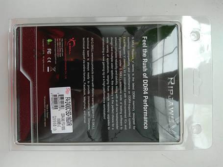 Оперативная память G.Skill 16 GB (2x8GB) DDR4 2400 MHz (F4-2400C15D-16GVR), фото 2