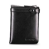 Бумажник мужской Teemzone Q373 Wax Black