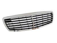 Решетка радиатора тюнинг Mercedes W211 E-klass 02-06