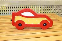 """Ночник из дерева для детской комнаты """"Машинка"""" на батарейках"""