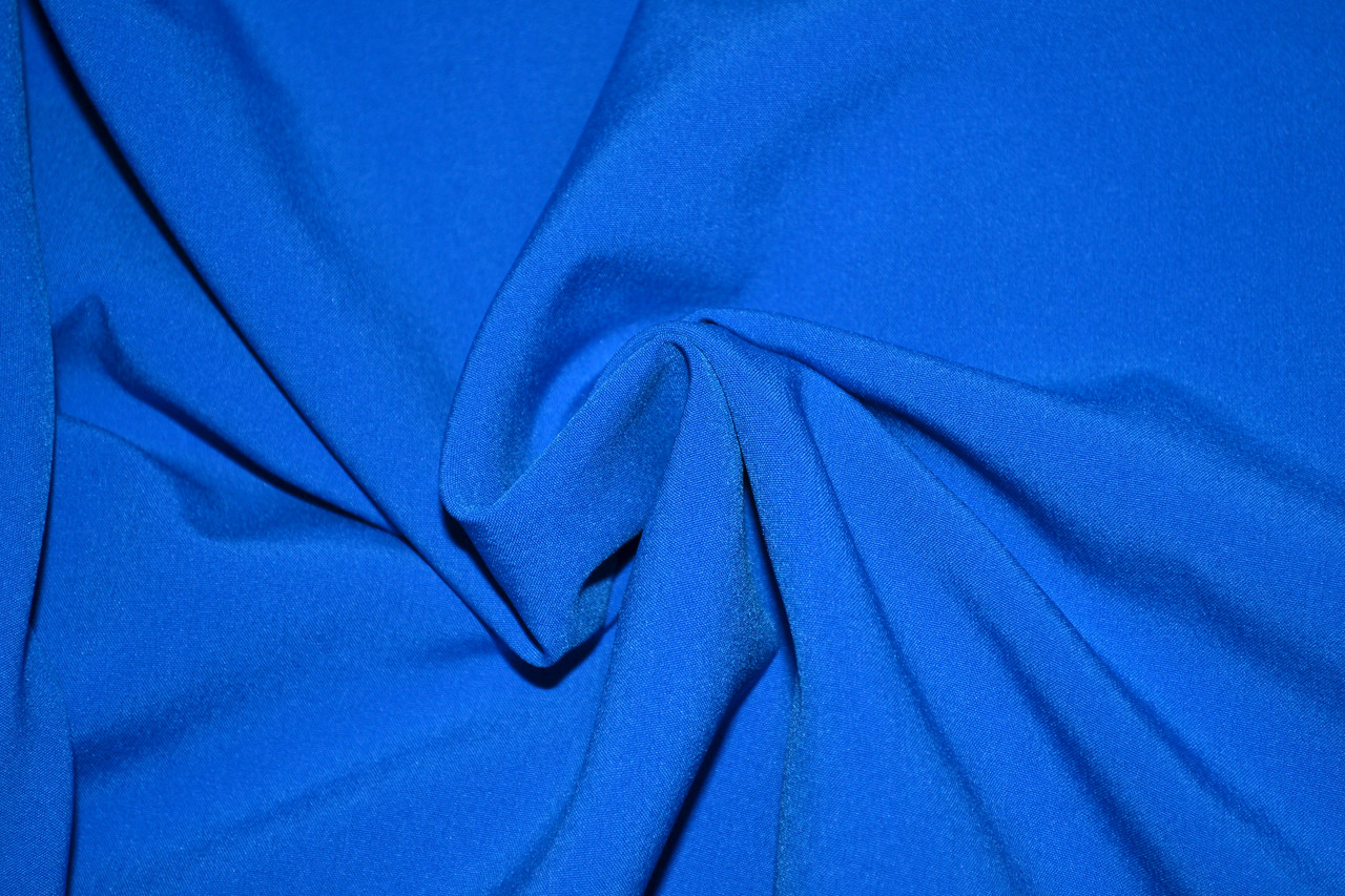 Софт-стрейч элетро синій