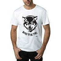 Wolf-Футболка Мужская с Дизайном